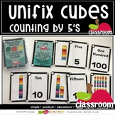 COUNT BY 5'S UNIFIX CUBES - SMARTY TASK CARDS