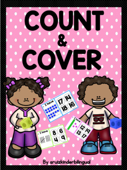 COUNT & COVER Kindergarten Math Center