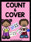 COUNT & COVER Kindergarten Math Center