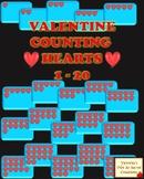 COUNT THE HEARTS VALENTINE CLIP ART 1 - 20