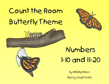 COUNT THE ROOM: BUTTERFLY THEME