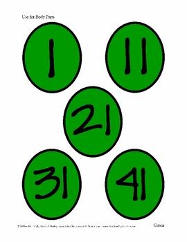 COUNT-a-pillar Math (Color ) - Improve Number Sense!