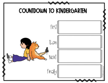 COUNTDOWN TO KINDERGARTEN  BOOK UNIT