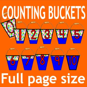 KINDER NUMBER 1-10 {math centers} {worksheets}