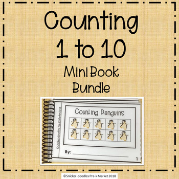 COUNTING 1 TO 10 MINI BOOK BUNDLE