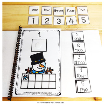 WINTER SPORTS COUNTING 1 TO 10