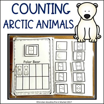 WINTER COUNTING 1 TO 10 ARCTIC ANIMALS