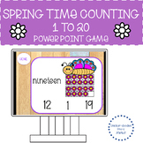 COUNTING 1 TO 20 POWER POINT GAMES