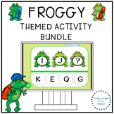 FROG THEMED COUNTING AND LETTER ACTIVITIES
