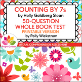 COUNTING BY 7s | 50-QUESTION WHOLE BOOK TEST