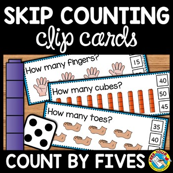 COUNTING BY 5S CENTER (SKIP COUNTING ACTIVITIES)