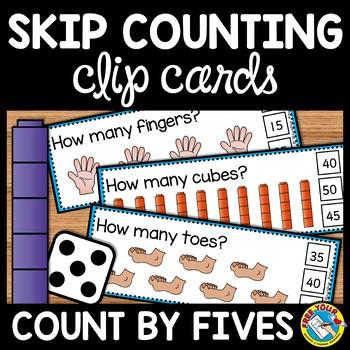 Skip Counting By 5s Activities Kindergarten Math Center 1st Grade