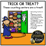 COUNTING CENTERS FOR HALLOWEEN