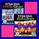 COUNTING CLIPART BUNDLE 2: 6 SETS OF COUNTING: MATH CLIPART