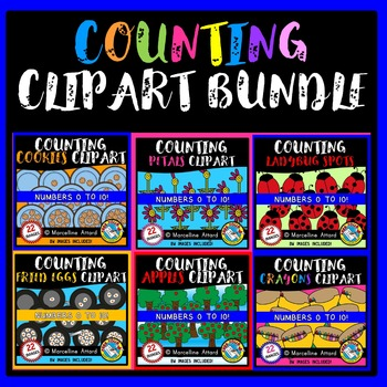 MATH COUNTING CLIPART BUNDLE