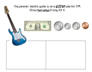 COUNTING COINS - Common Core Math  Let's Go Shopping! Smartboard Activity