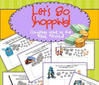 COUNTING COINS - Common Core Math  Let's Go Shopping! Smar