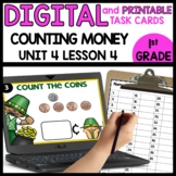 COUNTING COINS | DIGITAL TASK CARDS | PRINTABLE TASK CARDS