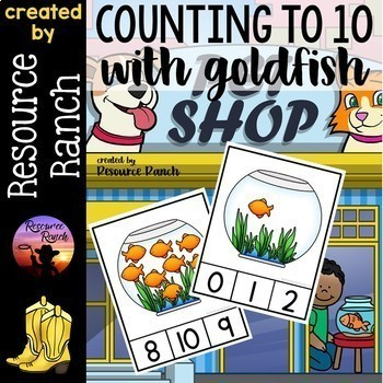 COUNTING Clip Cards and Readers Bundle Math Centers