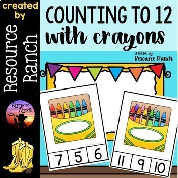 COUNTING Clip Cards and Readers Bundle