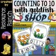Counting Centers and Books for Numbers 1-20 Bundle