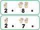 COUNTING FINGERS FLASHCARDS