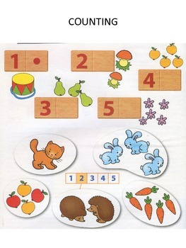 COUNTING, FORMS AND SHAPES