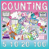 COUNTING GAMES AND ACTIVITIES - MATHS NUMBER EYFS KS1 ADDITION