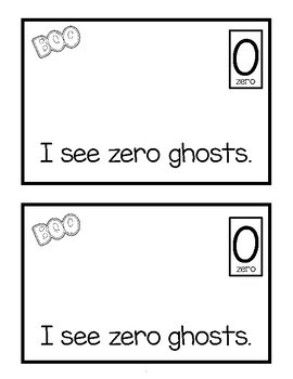 COUNTING HALLOWEEN - EMERGENT READER