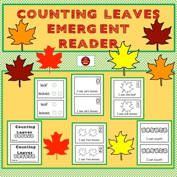 COUNTING LEAVES - FALL EMERGENT READER