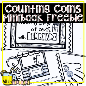COUNTING MONEY AND IDENTIFYING COINS MINI BOOK FREEBIE