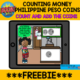COUNTING MONEY PHILIPPINE PESO COINS BOOM Cards™  **FREEBIE**
