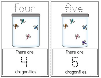 COUNTING NUMBERS 1-10 CARDS