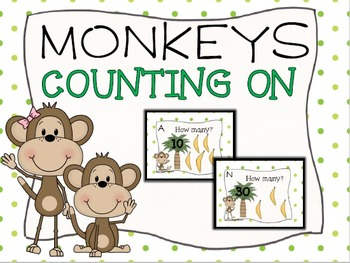 Counting On Monkey Task Cards