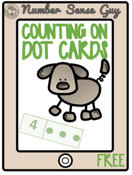 COUNTING ON DOT CARDS (FREE)