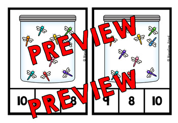 COUNTING PICTURES CENTERS 1-20 (PRE K + KINDERGARTEN COUNTING ACTIVITIES)