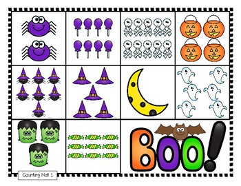 COUNTING PRACTICE 1-10 Including Number Words, More/Less, Equal Sets, Ten Frames