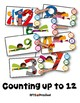COUNTING SUPER HERO NUMBERS (MATH CENTERS CLIP-a-CARD)