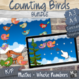 COUNTING TO 10 BUNDLE Counting Birds Print and Digital Activity