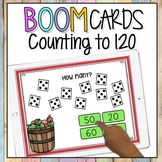 COUNTING TO 120 | SKIP COUNTING BOOM CARDS | Digital Math Game