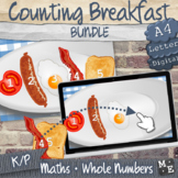 COUNTING TO 5 BUNDLE Counting Breakfast Print and Digital