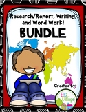 COUNTRIES BUNDLE {Research / Creative Writing / Word Work}