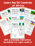 COUNTRIES OF AFRICA BUNDLE