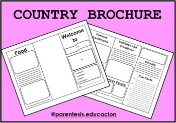 COUNTRY BROCHURE - Research Project