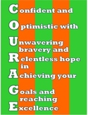 COURAGE Acronym Poster