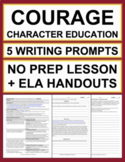 COURAGE Activities: 5 Writing Prompts