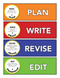 COVERS- WRITING PROCESS pocket folder/notebook labels