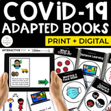 COVID-19 Adapted Books Bundle for Special Education | Dist