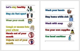 COVID-19/Corona Virus Safety Banners - EDITABLE