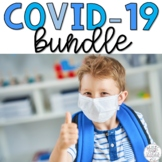 COVID-19 Coronavirus Safety Resources BUNDLE Distance Lear